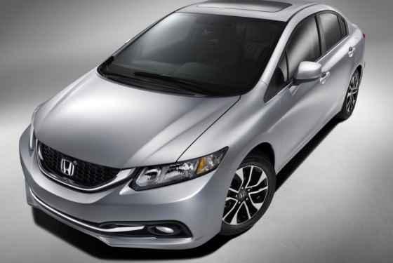 Honda Civic Sedan (2013) na rynek amerykański