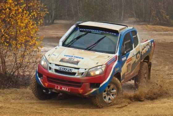 Isuzu D-Max gotowy na rajd Dakar