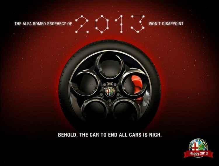 Alfa Romeo 4C - zapowiedź