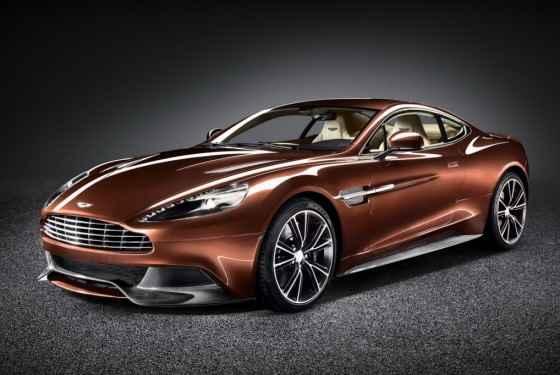 Aston Martin Vanquish (2012) - plan sprzedaży Aston Martina