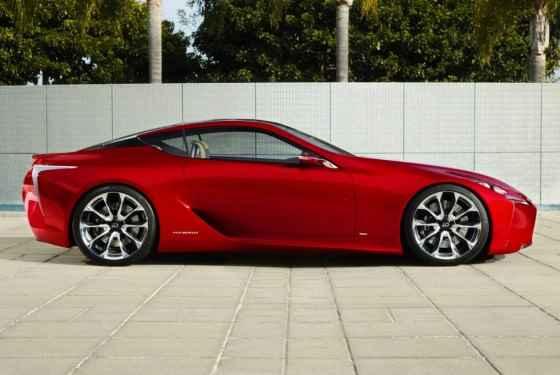 Lexus LF-LC - auto dla Mikołaja