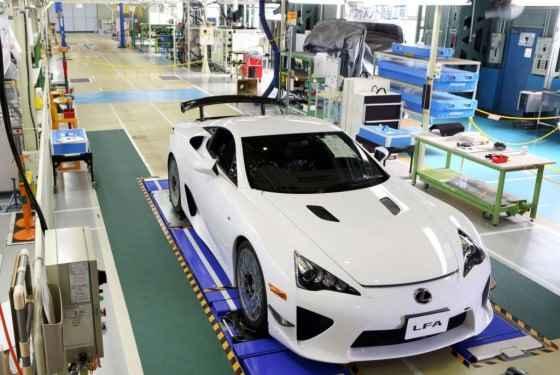 Lexus LFA - zakończenie produkcji