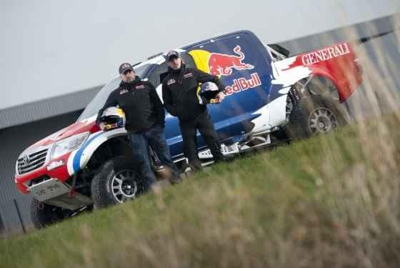 Rafał Marton, Adam Małysz i rajdowa Toyota Hilux