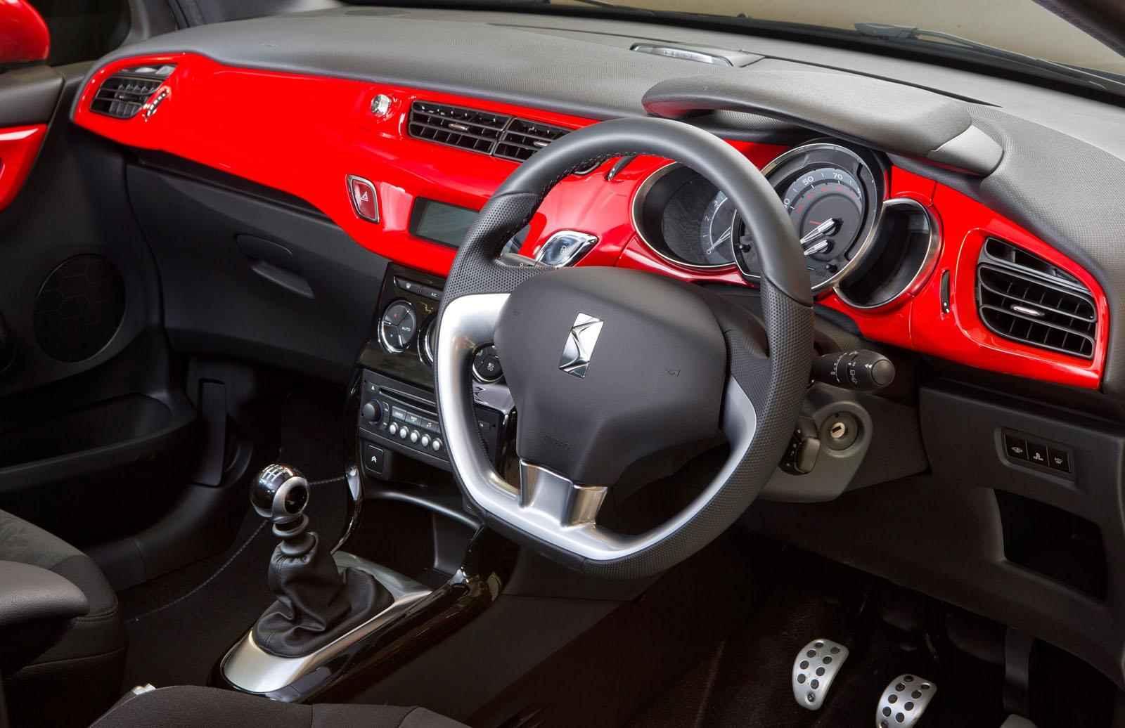 citroen ds3 red edition czerwono mi motoryzacja. Black Bedroom Furniture Sets. Home Design Ideas
