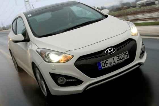 Hyundai i30 3d - silniki
