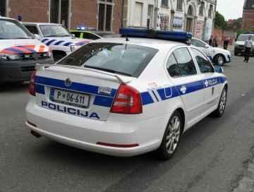 Słoweńska policja