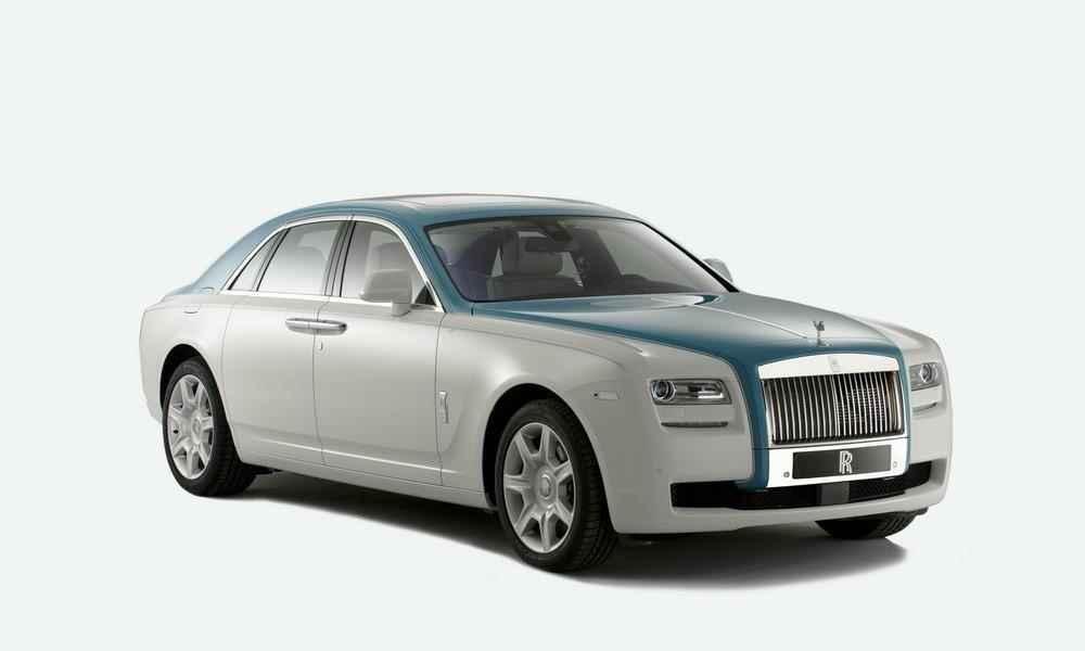 Rolls-Royce Ghost Firnas Motif - informacje