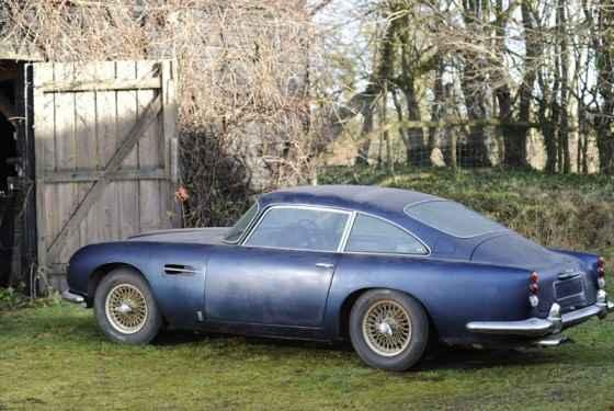 Aston Martin DB5 - egzemplarz na majową licytację