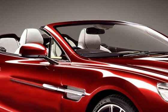 Aston Martin Vanquish Volante - zapowiedź