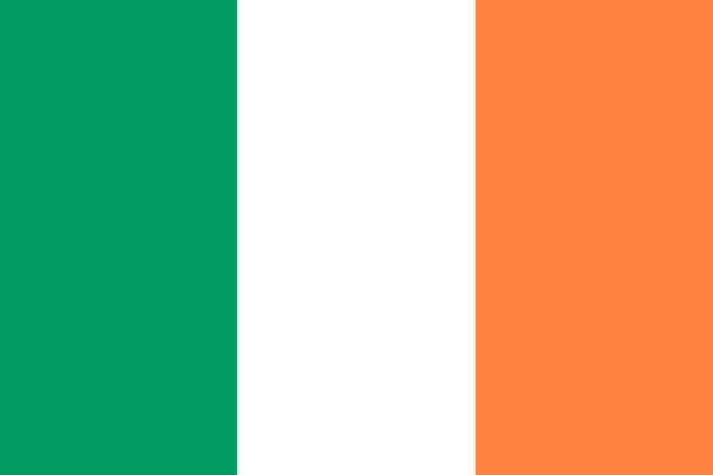 Irlandii Północnej Flaga Flaga Irlandii