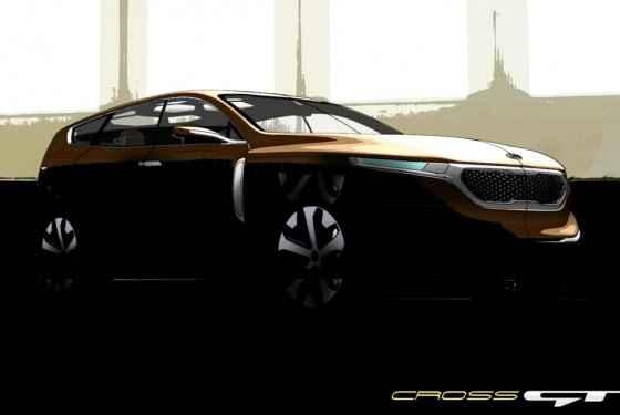 KIA Cross GT - zapowiedź
