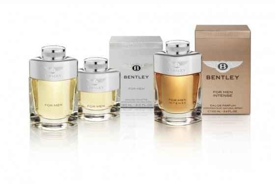 Kolekcja perfum od Bentley'a