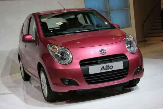 Suzuki Alto 2012 - wyprzedaż zeszłego rocznika w Suzuki