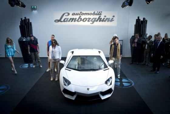 Zestaw gadżetów od Lamborghini