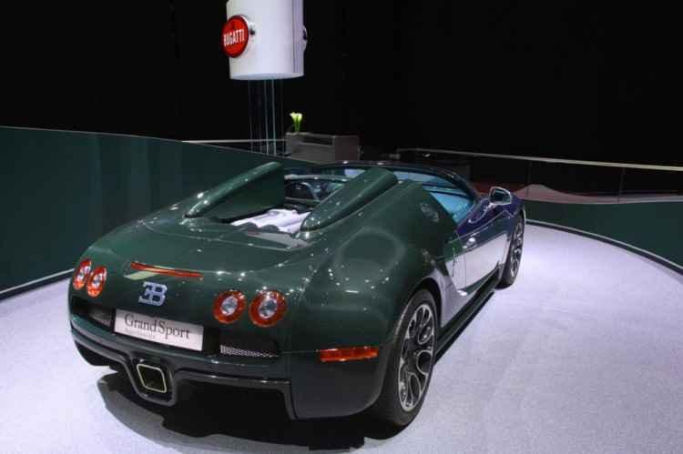 Limitowane Bugatti Veyron Grand Sport