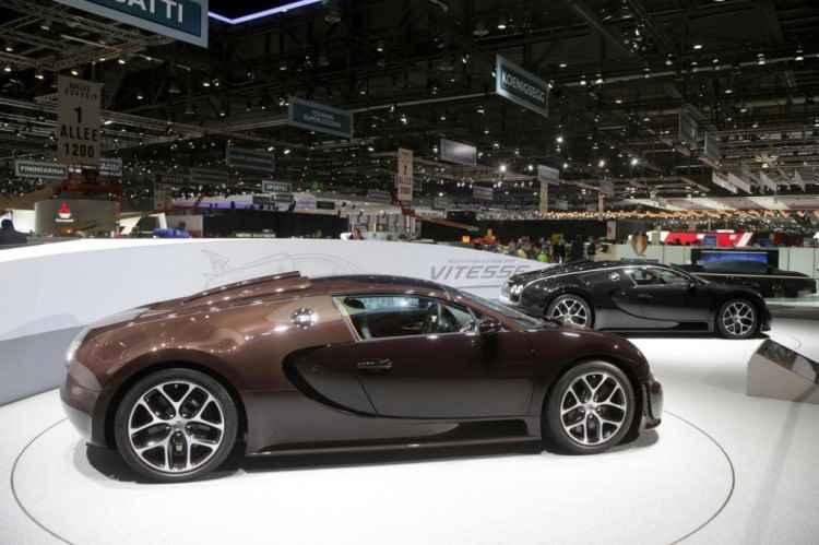 Limitowane Bugatti Veyrony Grand Sport Vitesse