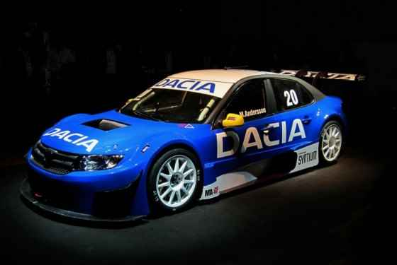 Dacia Logan STCC - informacje