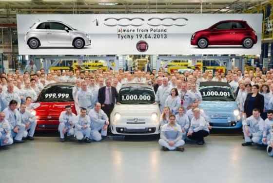 Milion egzemplarzy Fiata 500 z fabryki w Tychach