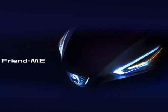 Nissan Friend-ME - zapowiedź
