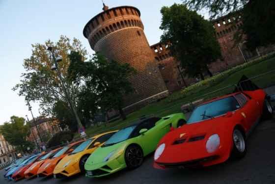 Lamborghini 50th Anniversary Grand Tour rozpoczęte