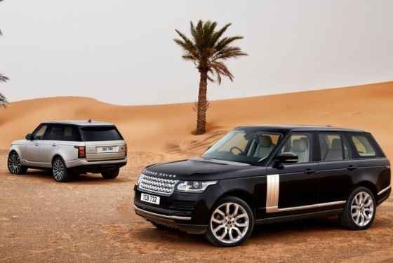 Nowy silnik w Range Roverze