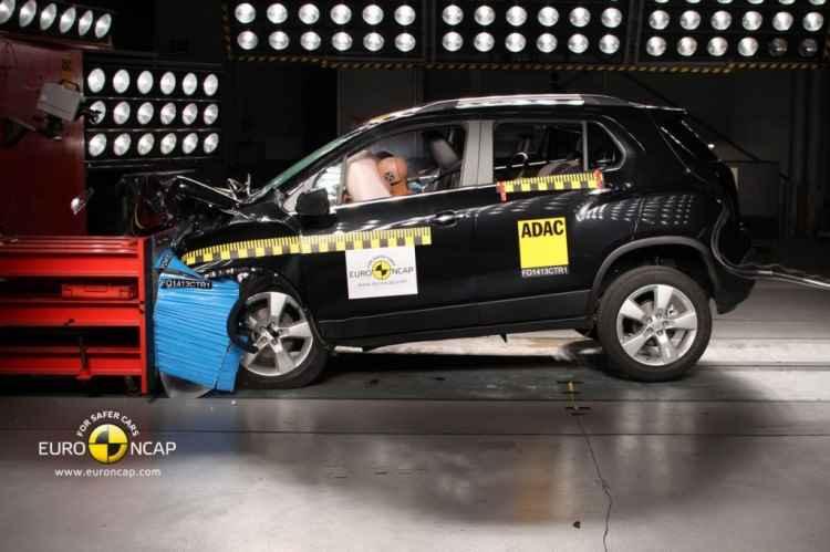 Wyniki majowych testów zderzeniowych (Chevrolet Trax)