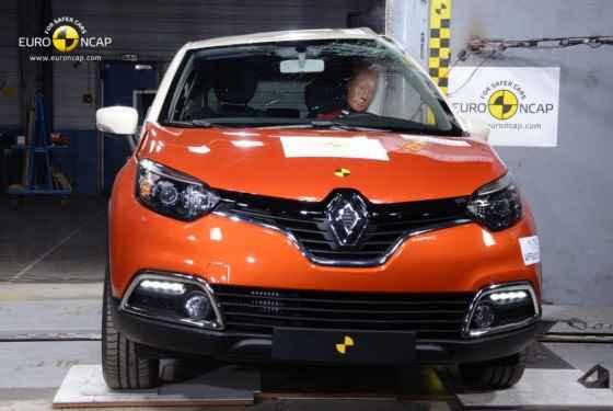 Wyniki majowych testów zderzeniowych (Renault Captur)