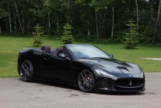 Maserati GranCabrio MC by Novitec Tridente