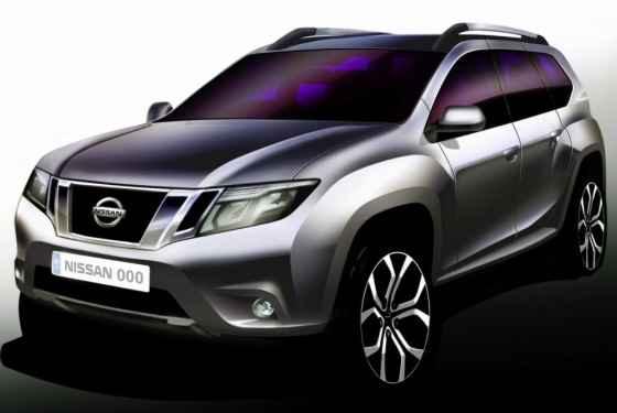 Teaser nowego Nissana Terrano (2014)