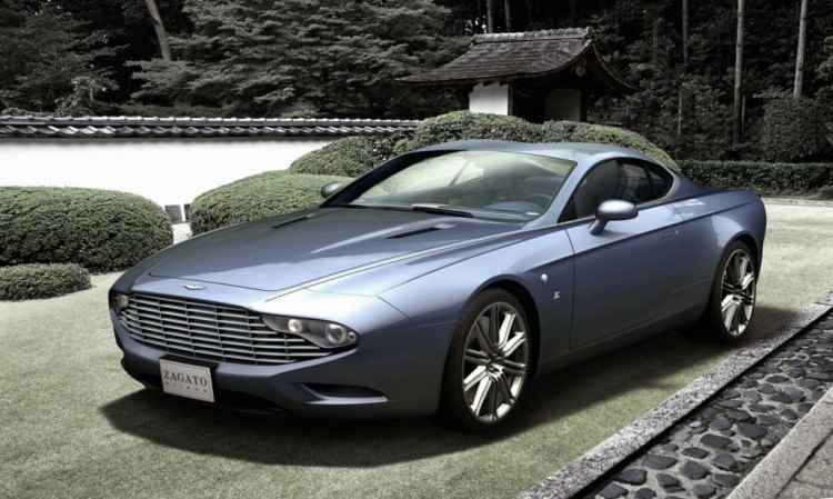 Aston Martin Coupe Zagato Centennial
