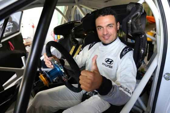 Bryan Bouffier fabrycznym kierowcą Hyundai'a