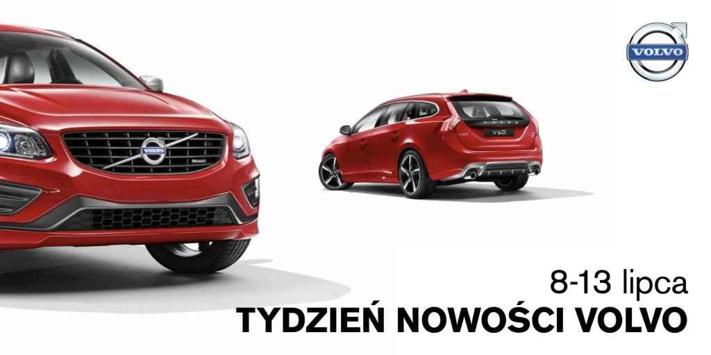 Tydzień nowości Volvo