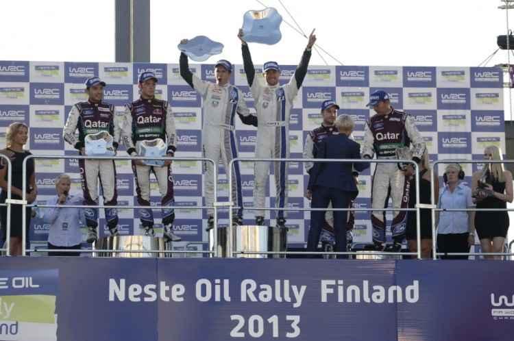 Wyniki Rajdu Finlandii 2013