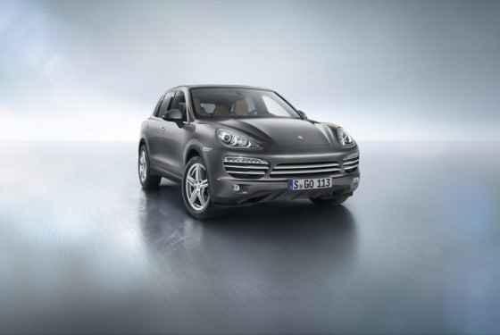 Porsche Cayenne Platinum Edition (2014)