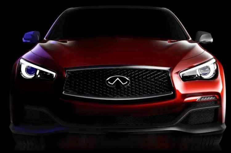 Zapowiedź Infiniti Q50 Eau Rouge Concept