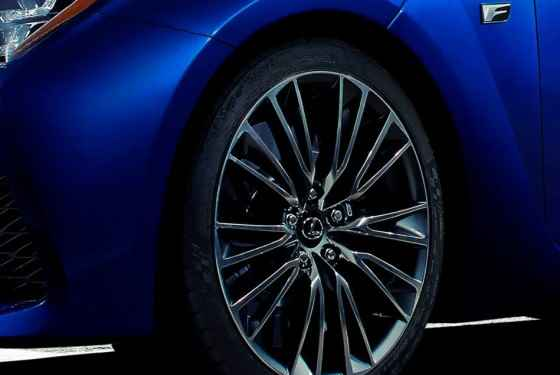 Zapowiedź Lexusa RC-F