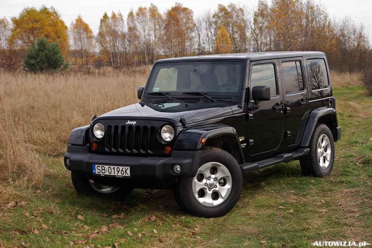 jeep wrangler unlimited 3 6 v6 sahara auto test motoryzacja
