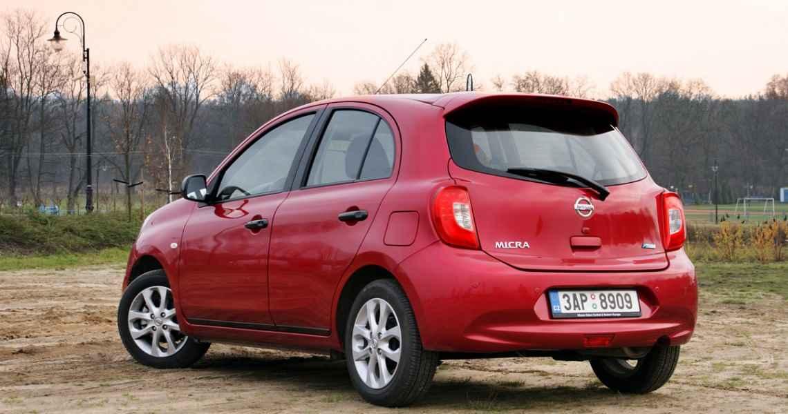 Nissan Micra 1.2 80 KM Tekna