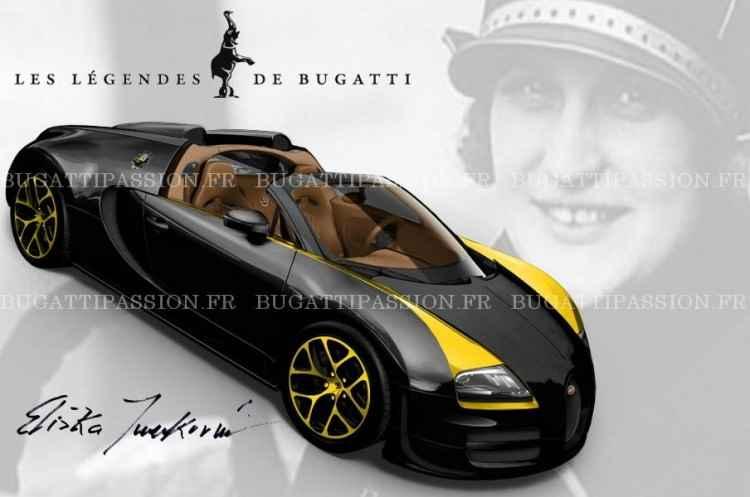 Bugatti Veyron Grand Sport Vitesse Elisabeth Junek