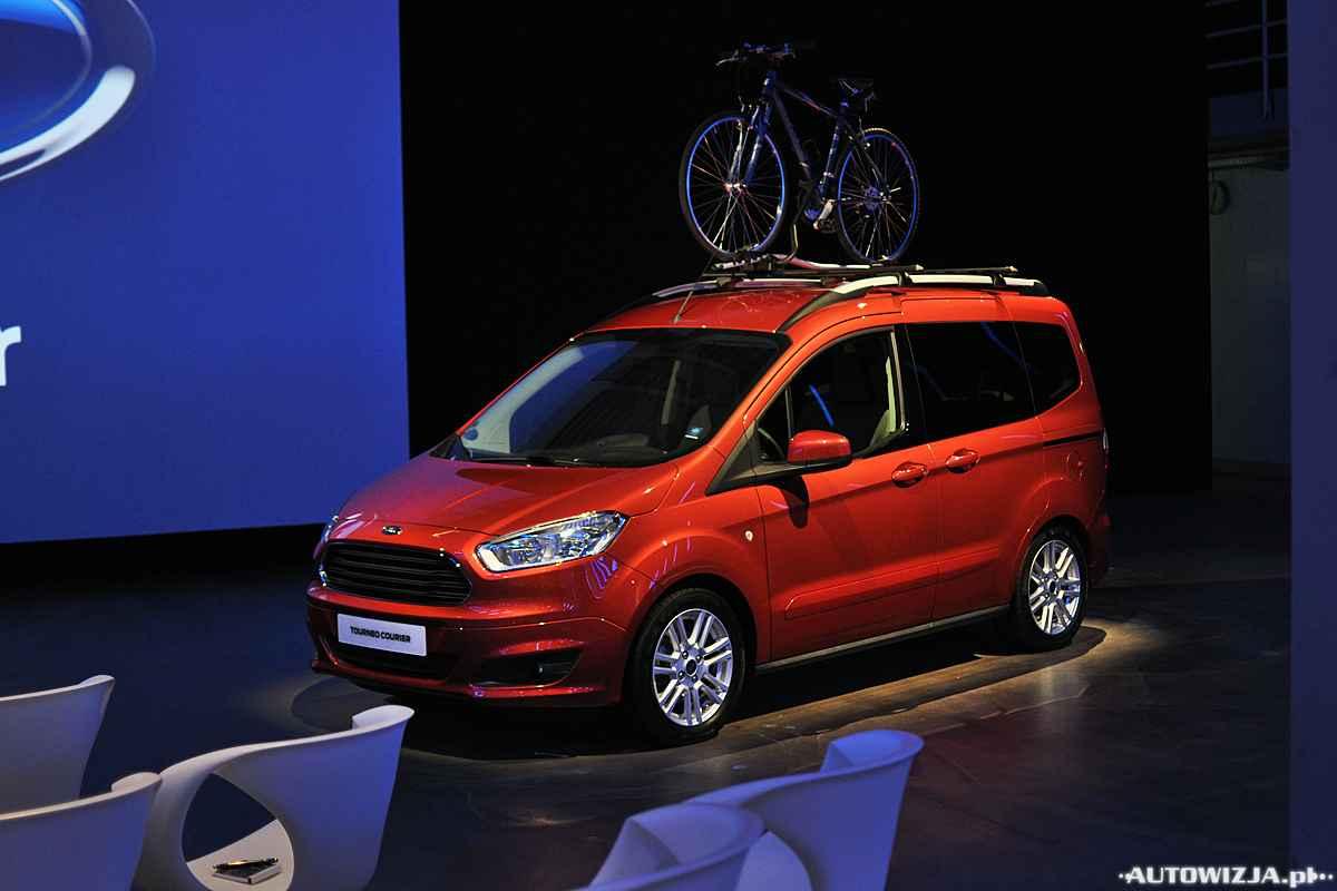 Ford Tourneo Courier Pierwsza Jazda Autowizja Pl