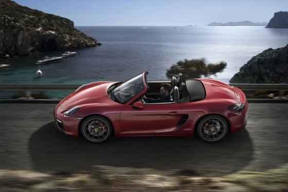 Porsche Boxster GTS (2014)