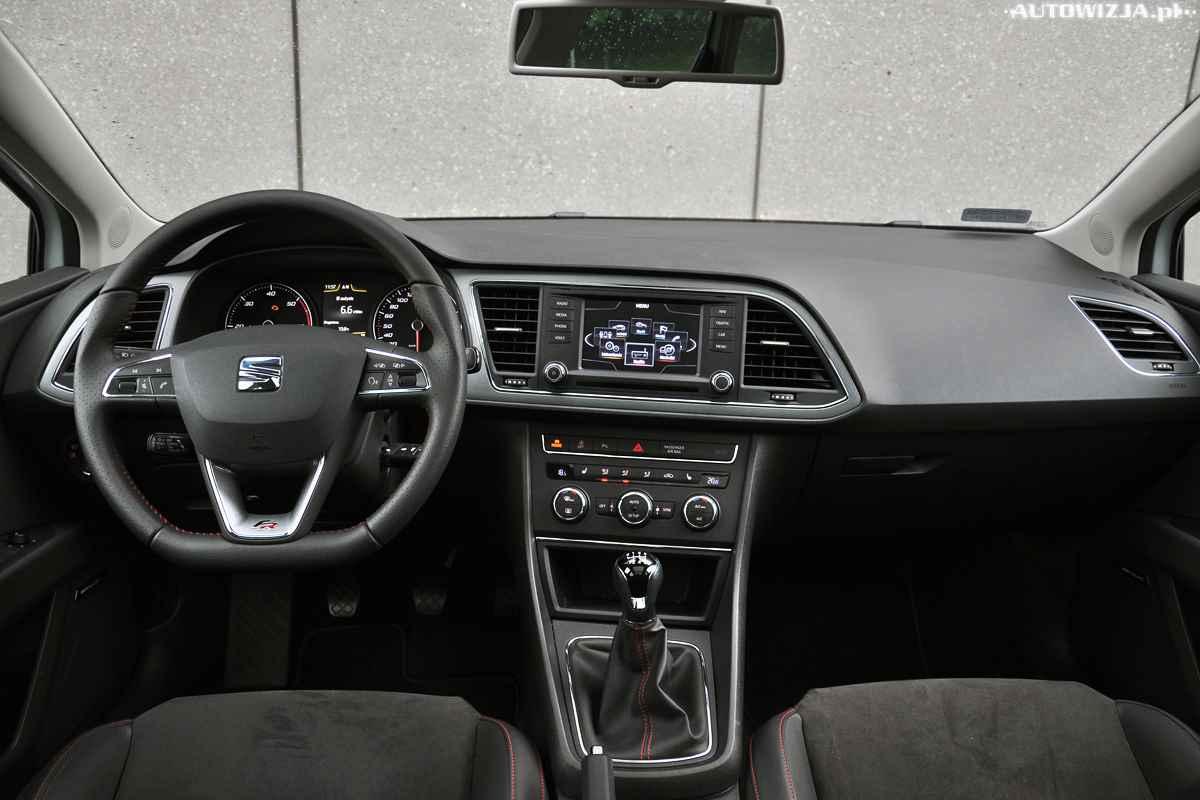 seat leon st fr 2 0 tdi 150 km auto test motoryzacja. Black Bedroom Furniture Sets. Home Design Ideas