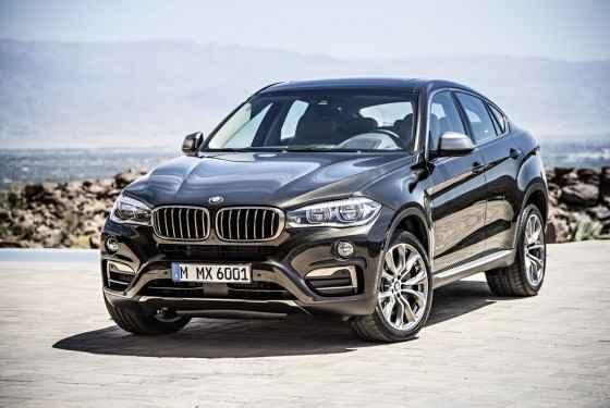Nowe BMW X6 (2014)