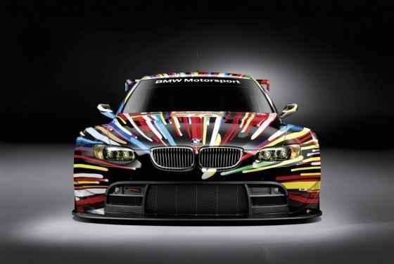 Ekspozycja BMW Art Cars w Warszawie