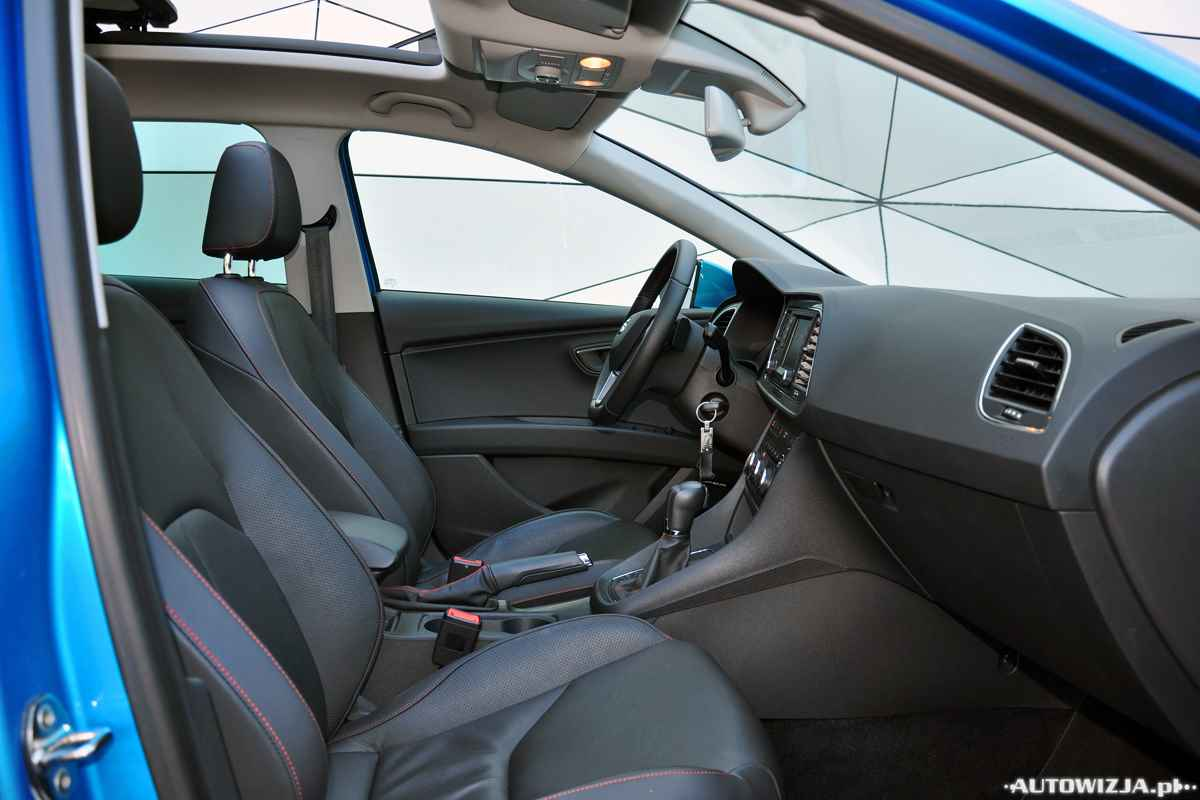 seat leon st fr 2 0 tdi 184 km auto test motoryzacja. Black Bedroom Furniture Sets. Home Design Ideas