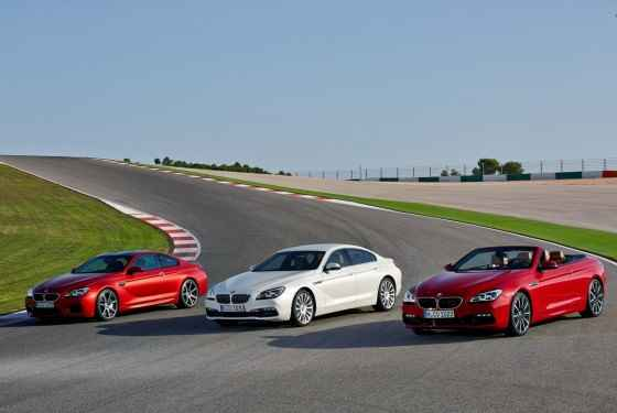 BMW serii 6 GranCoupe, Convertible i M6 FL (2015)