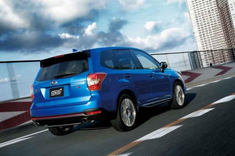 Subaru Forester STi tS (2015)