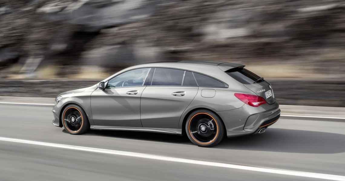 Mercedes CLA Shooting Brake Orange Art (2015)
