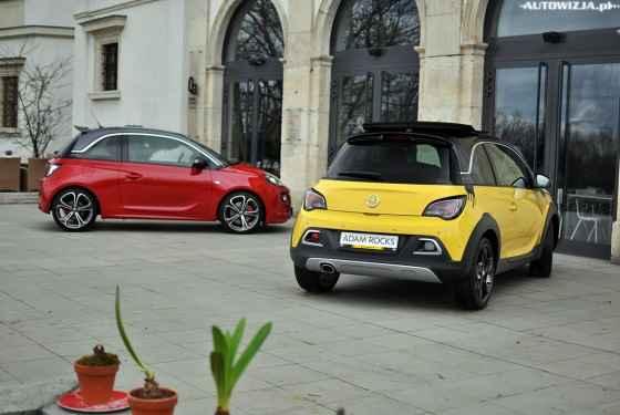 Opel Corsa OPC Adam S i Adam Rocks