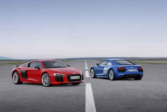 Nowe Audi R8 i R8 Plus (2015)